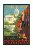 Washington  DC Travel Poster