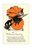 Poem  Witch on Broom