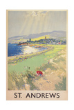 Poster of St Andrews Golf Course