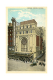 Vintage Chicago Theater