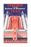Travel Poster  Chicago World's Fair