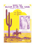 Sheet Music for Western Song