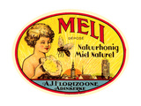 Vintage Honey Label