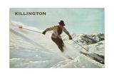 Old Time Skier  Killington