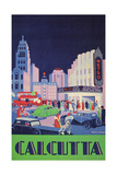 Travel Poster for Calcutta  India