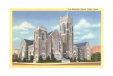 First Methodist Church  Dallas