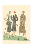 Fashionable Lady Golfers