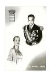 Prince Rainier III of Monaco and Grace Kelley Wedding Commemorative