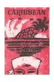 Travel Poster for the Caribbean