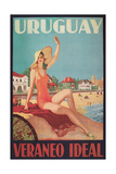 Travel Poster for Uruguay