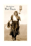 Howdy from Fort Davis  Texas