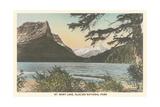 St Mary Lake  Glacier National Park