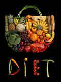 Diet Handbag Reproduction d'art par Romario Ien