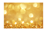 Shiny Golden Lights Reproduction d'art par SSilver