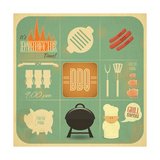 Barbecue Menu BBQ