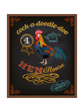 Chalkboard Poster for Chicken Restaurant