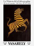 Expo Maison de la Lithographie Reproductions de collection premium par Victor Vasarely