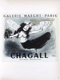 Af 1950 - Galerie Maeght Reproduction pour collectionneurs par Marc Chagall