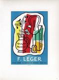 Af 1953 - Galerie Louis Carré Reproduction pour collectionneurs par Fernand Leger
