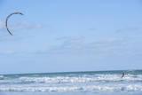 USA  Florida  New Smyrna Beach  kite surfer