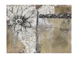 Collage Fleur I