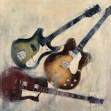 Guitars I Reproduction d'art par Joseph Cates