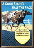 A Good Start Is Half the Race