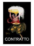 Contratto Reproduction d'art par Leonetto Cappiello