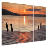 Another Kekua Sunrise 3 piece gallery-wrapped canvas