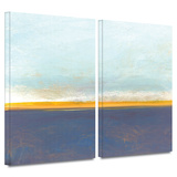 Big Country Sky I 2 piece gallery-wrapped canvas