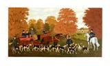 Chasse à courre à Chantilly