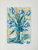 Tulipe bleue