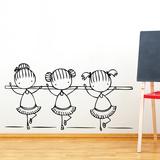 Ballet Class Wall Decal