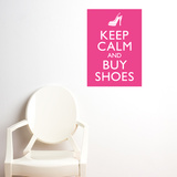 Buy shoes Wall Decal
