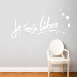 Je suis libre Wall Decal
