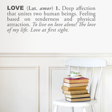 Love (english) Wall Decal