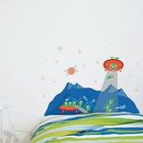 Head in the Stars Wall Decal