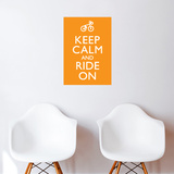 Ride on Wall Decal
