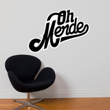 Oh Merde! Wall Decal