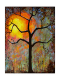 Sunrise Sunset Tree