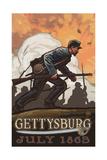 Gettysburg Infantry Charge PAL 964