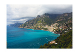 Amalfi Coast Scenic Vista at Positano  Italy
