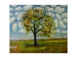 Botanical Print Patterned Sky Tree