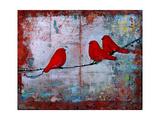 Art Bird Print Let it Be