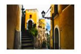 Positano Street Scenic  Campania  Italy