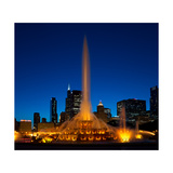 Buckingham Fountain Nightlight Chicago