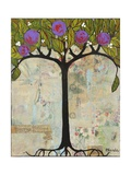Art Tree Painting Original Modern Tree Past Vision