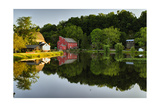 Tranquil River Reflections  Clinton  New Jersey