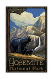 Yosemite Black Bear and Cubs PAL 95