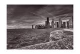 Chicago Sunrise BW